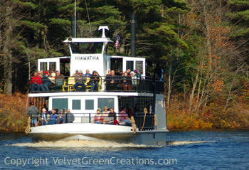 Tahquamenon Falls Boat Tours and the Toonerville Trolley