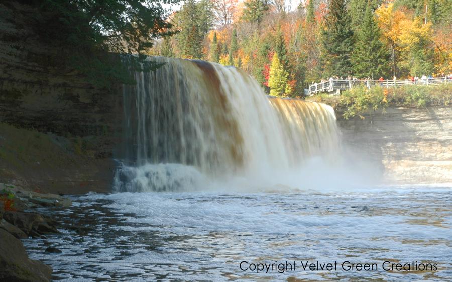 Upper Tahquamenon Falls in the Fall